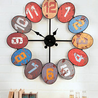 Big Bold Colorful Wall Clock | LTD Commodities