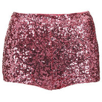 Sequin Knicker Short - Going Out  - Clothing