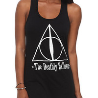 Harry Potter And The Deathly Hallows Symbol Girls Tank Top | Hot Topic