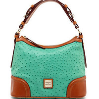 Dooney & Bourke Ostrich Embossed 75th Anniversary Hobo Bag 					 					 				 			 | Dillard's Mobile