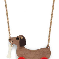 Kick, Woof, Coast Necklace | Mod Retro Vintage Necklaces | ModCloth.com