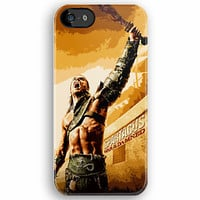 SPARTACUS Gladiator Warrior movie series art painting apple iphone 5, iphone 4 4s, iPhone 3Gs, iPod Touch 4g case
