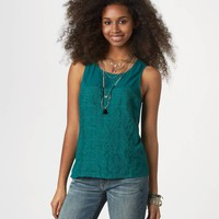 AE Studded Embroidery Tank | American Eagle Outfitters