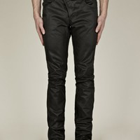 Alexander McQueen Men's Sprayed Denim Jeans
