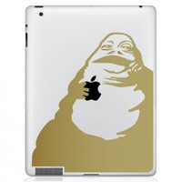 Jabba the Hut iPad Decal