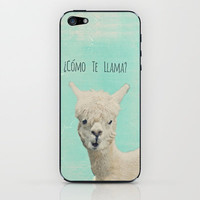 Lama iPhone & iPod Skin by M✿nika  Strigel