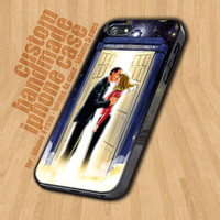 Doctor Who Tardis Police Box  - iPhone 4 / 4s Case - iPhone 5 Case - Black Case - White Case