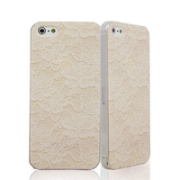 White Lace Case for iPhone
