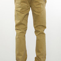 LRG (Lifted Research Group) Pants Counterpoint Slim Straight Fit Pants Dark Khaki