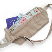 Amazon.com: Rick Steves Silk Money Belt, Natural, One Size: Clothing