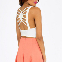 Spidey Back Crop Top $29