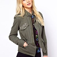 A Wear Embellished Military Jacket at asos.com