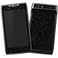 Textured Black Honeycomb Skin  for the Droid RAZR by skinzy.com