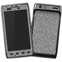 Textured Tin Metallic Honeycomb Skin  for the Droid RAZR by skinzy.com
