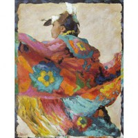 Windsor Vanguard Tribal Dancer II Canvas - VC8044B - All Wall Art - Wall Art & Coverings - Decor