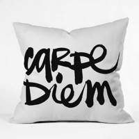 DENY Designs Kal Barteski Carpe Diem Decorative Pillow