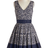 Calligraphy of the Styled Dress | Mod Retro Vintage Dresses | ModCloth.com