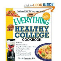 Amazon.com: The Everything Healthy College Cookbook (Everything (Cooking)): Nicole Cormier: Books