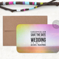 Modern 'Save The Date' Card // SPECTRUM //