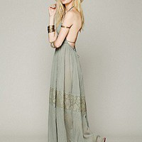 Free People Womens Endless Summer Triangle Top Maxi - White,