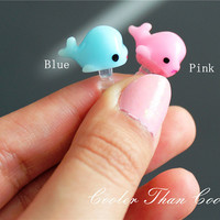 Cute Whale Dust Plug/ Cell Phone Accessory / by CoolerThanCool