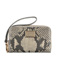 MICHAEL Michael Kors  Exclusive iPhone® 4S and 4 Zip Wallet, Natural Python
