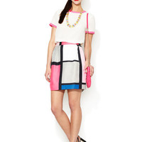 Barry Pleated Printed Skirt by kate spade new york at Gilt