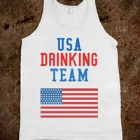 USA Drinking Team - Country Music Shirts - Skreened T-shirts
