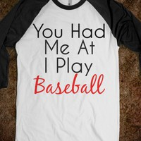 I Play Baseball - Reddicks - Skreened T-shirts, Organic Shirts, Hoodies, Kids Tees, Baby One-Pieces and Tote Bags