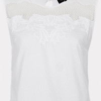 Tall Embroidered White Crop - New In This Week - New In - Topshop USA