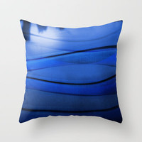 City Skyline Throw Pillow by Viviana González