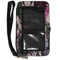 Lace Floral Phone Wallet | Shop Accessories at Wet Seal