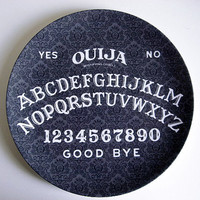 Ouija Board Decorative Plate