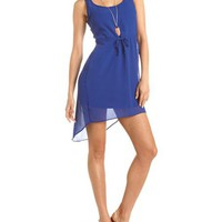 Crisscross Back Hi-Low Dress: Charlotte Russe