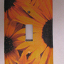 Light Switch Cover - Light Switch Plate Black Eyed Susan flower