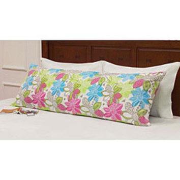 Roxy Be True Body Pillow Cover | Overstock.com