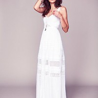 Free People Jill's Limited Edition White Story Dress