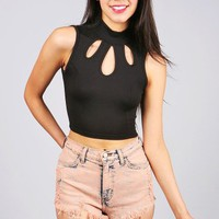Teardrop Crop Top | Cute Crop Tops at Pink Ice