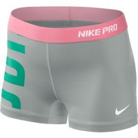 Nike Women's Pro Hypercool Zip-Zam Shorts