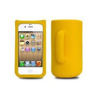 HOTER 3D Cup Shape Sillicon Holder IPHONE 4 / 4S Cover: Sports &amp; Outdoors