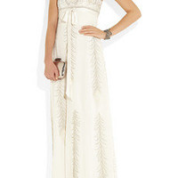 Matthew Williamson | Embellished silk-chiffon gown | NET-A-PORTER.COM