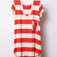 Stripe Range V-Neck