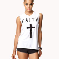 Faith Muscle Tee | FOREVER 21 - 2059601689
