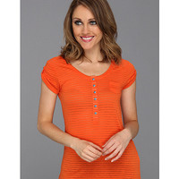 Ariat Henley Top Tangerine - Zappos.com Free Shipping BOTH Ways