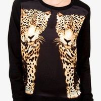 Mirrored Cheetah Pullover | FOREVER 21 - 2023402042