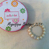 NEW Stella & Dot Mini Soiree Bracelet in Ivory - Pretty