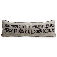 Disney Mary Poppins Pillow - ''Supercalifragilisticexpialidocious'' | Disney Store