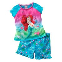 Disney Princess Ariel Pajama Set - Toddler