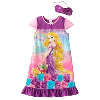 Disney Princess Tangled Rapunzel Nightgown - Girls