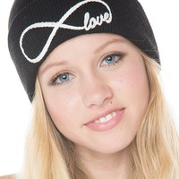 Brandy ♥ Melville |  Infinity Love Beanie - Hair Accessories - Accessories